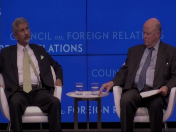 External Affairs Minister S. Jaishankar at Council on Foreign Relations (CFR) programme in New York