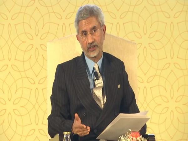 External Affairs Minister S Jaishankar addressing an event in New Delhi on Thursday