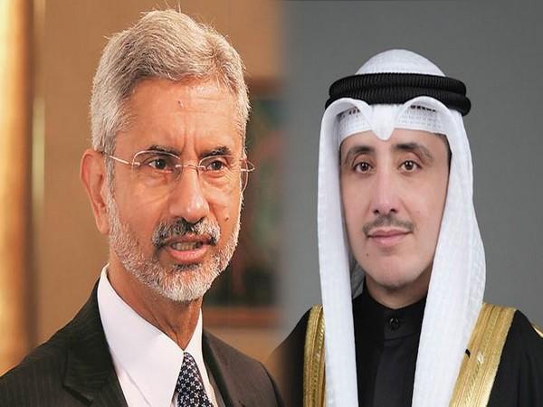 External Affairs Minister S Jaishankar and Kuwait Foreign Minister Dr Ahmed Nasser Mohammed Al Sabah
