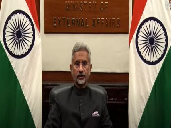 External Affairs Minister S Jaishankar speaking at the Afghanistan 2020 Conference via video conferencing on Tuesday.