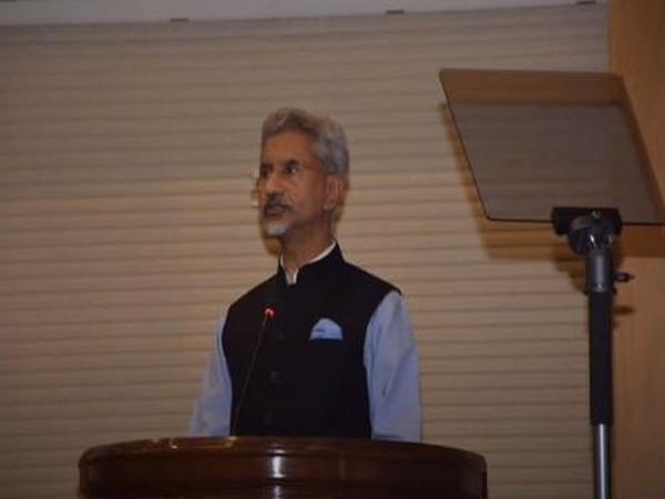 External Affairs Ministers S Jaishankar giving the Sardar Patel Memorial Lecture on Saturday.
