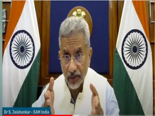External Affairs Minister S Jaishankar participating in 'The future of India-EU relations', organised by Observer Research Foundation (ANI)
