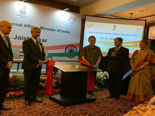 External Affairs Minister S Jaishankar inaugurating the CII office in Jakarta on Thursday. (Photo Credits: CII Twitter)
