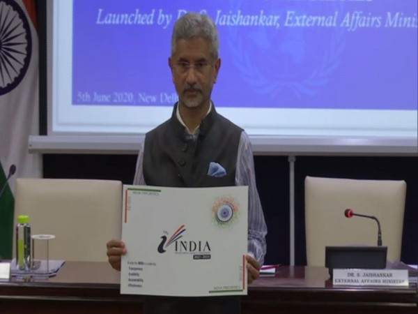 EAM S Jaishankar launches brochure outlining campaign for India's election at UNSC on Friday