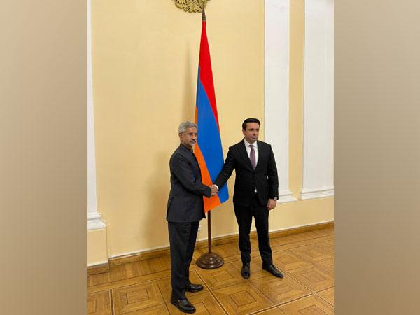 Jaishankar meets Armenian President, discusses strengthening ties between countries [@DrSJaishankar]