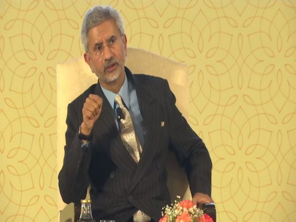 External Affairs Minister S Jaishankar addressing an event in New Delhi on Thursday