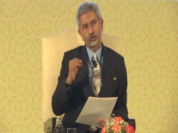 External Affairs Minister S Jaishankar addressing an event in New Delhi