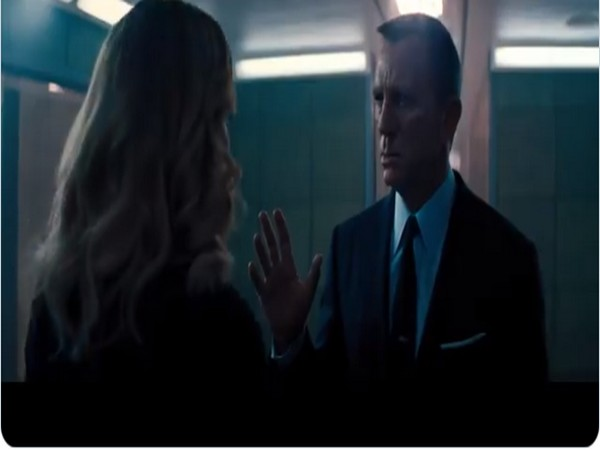 A still from the second trailer of 'No Time To Die' (Image source: YouTube)