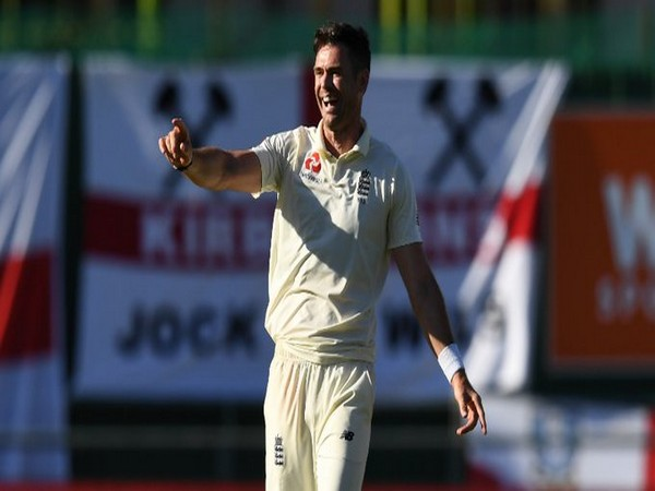 England pacer James Anderson.
