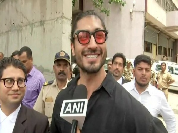 Actor Vidyut Jamwal while talking to ANI on Monday