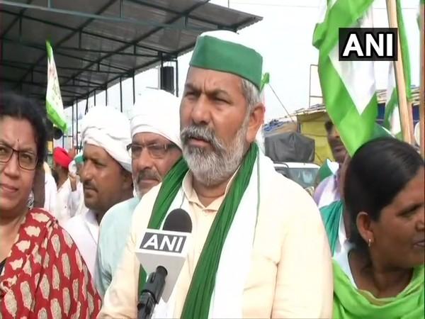 Bharatiya Kisan Union leader Rakesh Tikait. (Photo/ ANI)