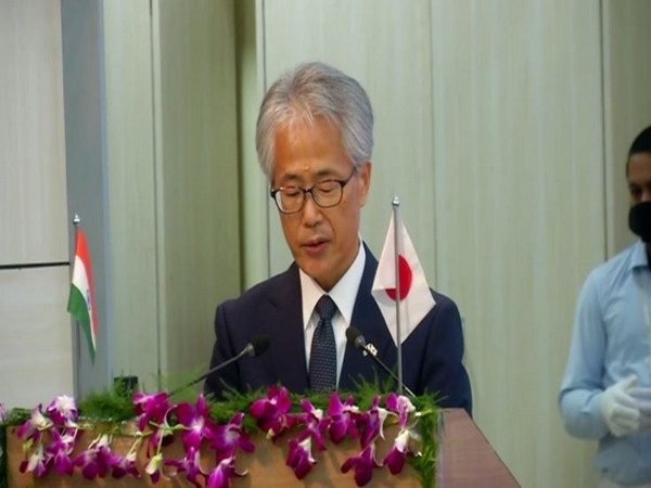 Ambassador of Japan to India Satoshi Suzuki in Bhubaneswar(Photo/ANI)