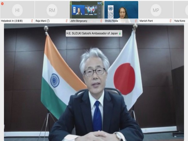 Satoshi Suzuki, Ambassador of Japan to India witnessing the handover of Oxygen Generating Plants to the Northeast states (Photo Credit: Japanese embassy in India Twitter)