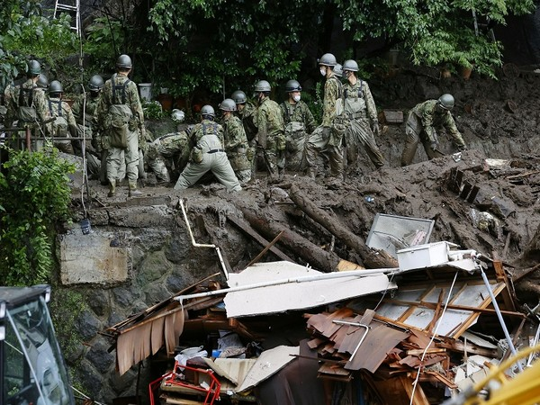 Rescue operations carried out in the Japanese city of Atami. (Photo Credit - Reuters)