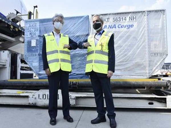 100 oxygen concentrators arrived in India from Japan (Photo/Credit: Twitter)
