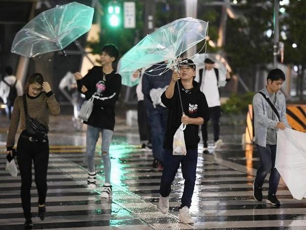 Typhoon Faxai makes landfall in Tokyo. (Photo Credits: Reuters)