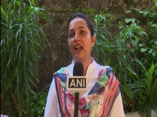 Jassel Viola D'Souza - BJP candidate for Mangaluru City Corporation elections. Photo/ANI