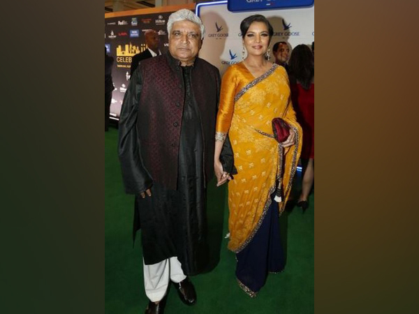 Poet Javed Akhtar and actor Shabana Azmi