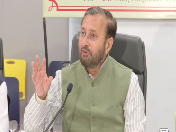 Union Minister Prakash Javadekar during a press conference in Pune on Friday. Photo/ANI