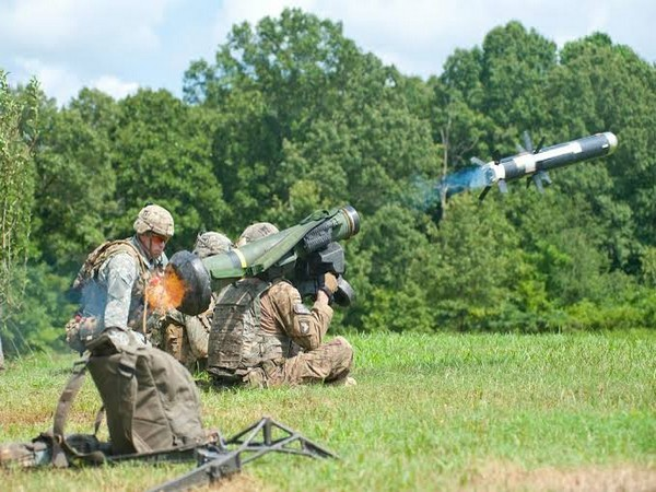 US Javelin anti-tank missile systems (File pic)