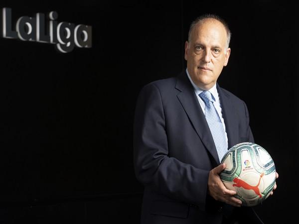 LaLiga president Javier Tebas