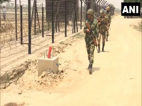 Jawans at International Border in Punjab