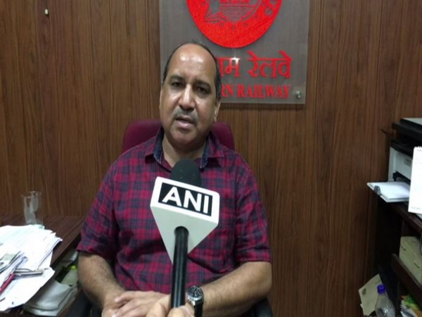 Senior PRO of Ratlam Division Jitendra Kumar Jayant speaking to ANI in Indore on Friday.
