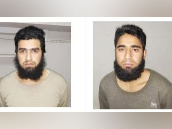 Shahnawaz (L) is from Kulgam and Aqib (R) is from Pulwama [File Photo/ANI]