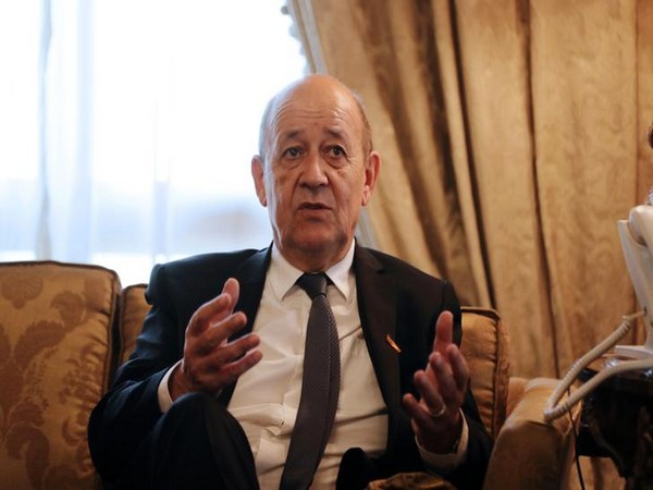 Minister for Europe and Foreign Affairs of France Jean-Yves Le Drian (File Photo)