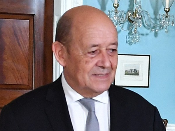 France's Minister of Europe and Foreign Affairs, Jean-Yves Le Drian (file photo)