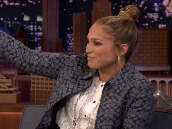 Jennifer Lopez on The Tonight Show Starring Jimmy Fallon