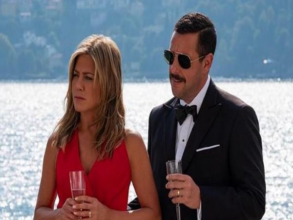 Jennifer Aniston and Adam Sandler in 'Murder Mystery'