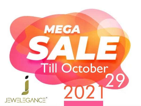 Jewelegance Mega sale till October 29, 2021