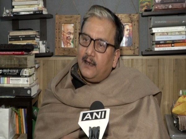 RJD leader Manoj Jha speaking to ANI in New Delhi on Monday. (Photo/ANI)