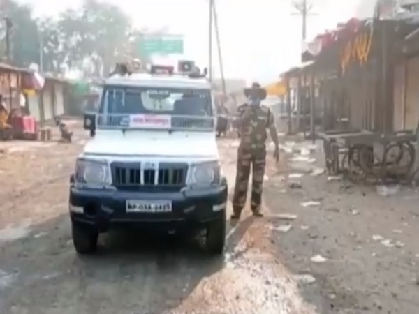 A visual from the viral video. Photo/ANI