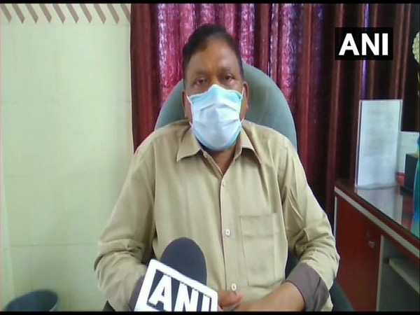Dr JC Barik, Chief District Medical Officer of Jharsuguda speaking to ANI in Odisha on Thursday. Photo/ANI