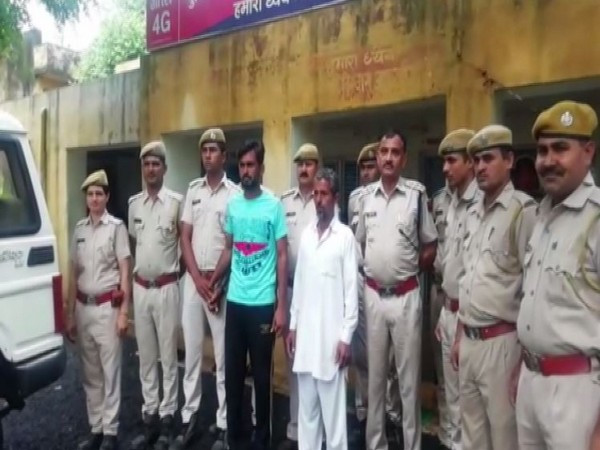Rajasthan Police on Wednesday night arrested two persons for allegedly murdering a man after a verbal scuffle. Photo/ANI
