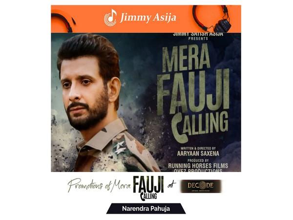 "Promotion of ""MeraFauji Calling"" movie"