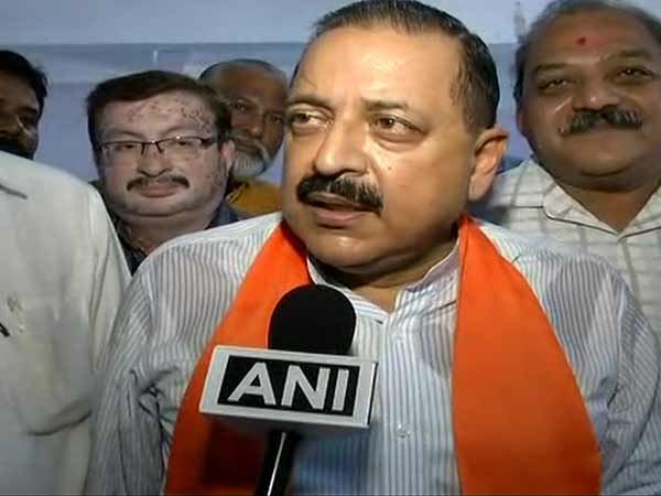Minister of State for Prime Minister's Office Jitendra Singh. File photo/ANI