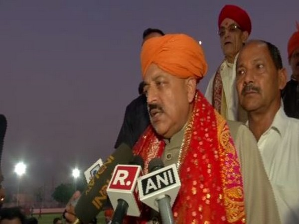 Union Minister Jitendra Singh speaking to media persons in Jammu on Tuesday. Photo/ANI