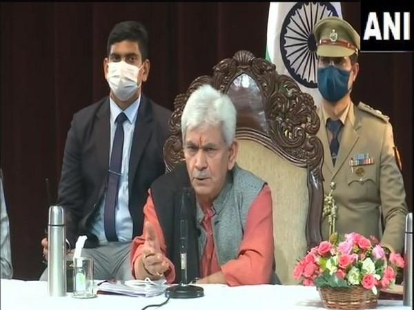 Jammu and Kashmir Lieutenant Governor Manoj Sinha.