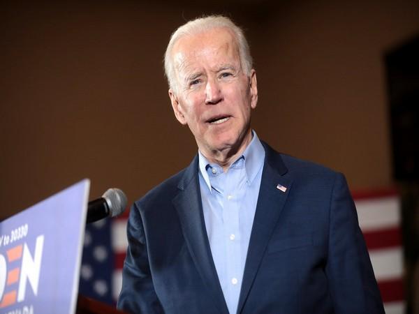 Democratic US Presidential nominee Joe Biden