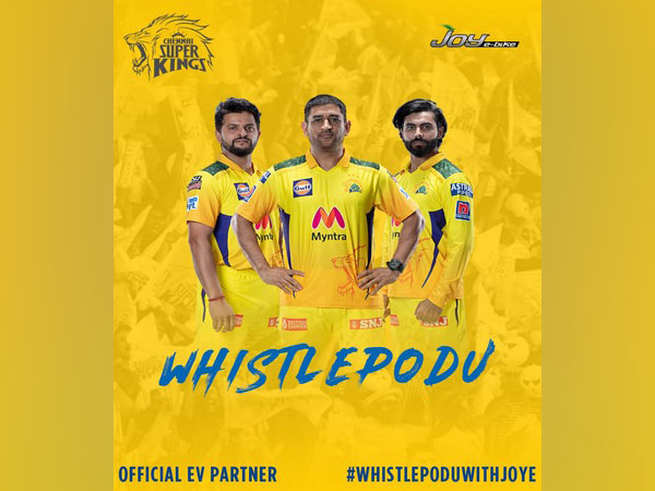 Joy e-bikes launches new digital campaign #WhistlePoduWithJoye as CSK's official EV partner