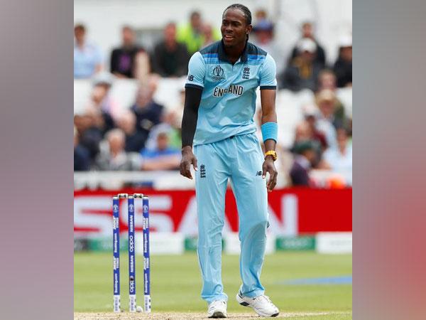 England's bowler Jofra Archer