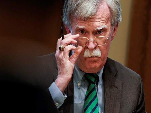 Former US National Security Adviser John Bolton (File pic)
