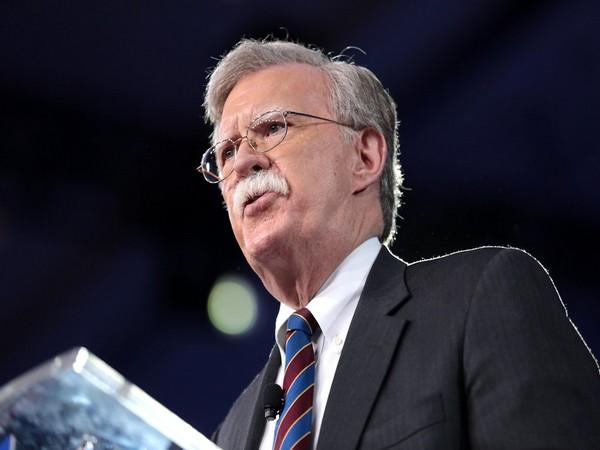 Former US National Security Advisor (NSA) John Bolton (File photo)
