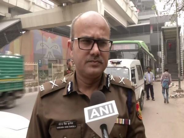 Joint CP (Traffic) Narendra Singh Bundela speaking to ANI in New Delhi on Thursday. Photo/ANI