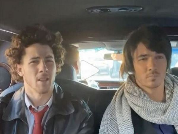 A still from the TikTok video of Jonas brothers (Image courtesy: Instagram)