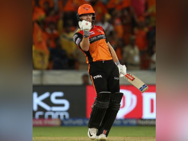 Sunrisers Hyderabad defeated Kolkata Knight Rider by nine wickets here on Sunday (Photo/ Sunrisers Hyderabad Twitter)