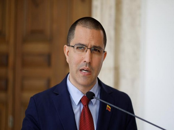 Venezuelan Foreign Minister Jorge Arreaza (file photo)